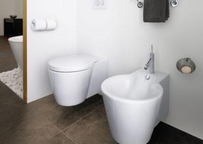 WC mit Bidet